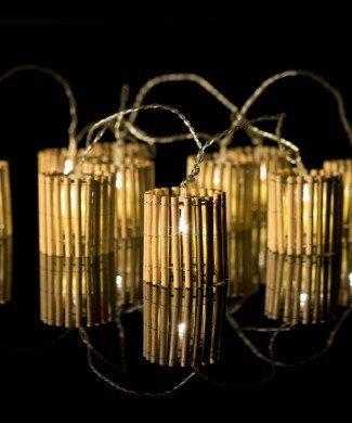 BAMBOO lantern fairy lights