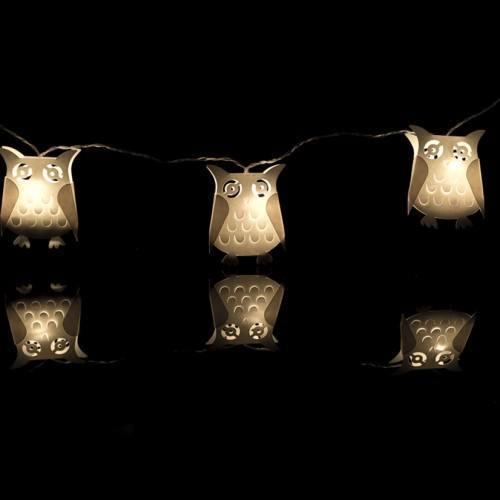 OWL battery fairy lights