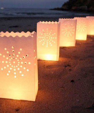 Luminaria Lantern - Star