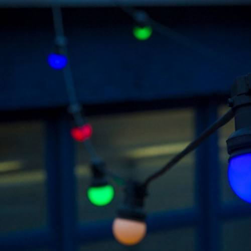FESTOON party lights 10m - multi-colour LED