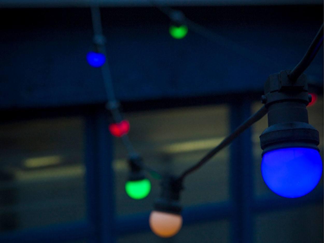 FESTOON party lights 10m - multi-colour LED ... & 24V Fairy Lights   Low Voltage Fairy Lights   Outdoor Faiy Lights