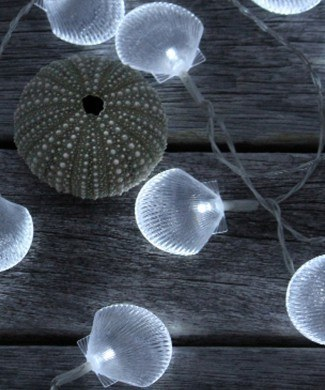 SOLAR fairy light shells